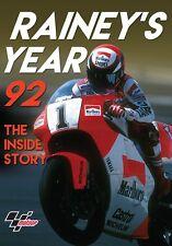 Rainey's Year 92 - The inside Story (New DVD) Wayne Rainey MotoGP