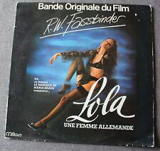 Lola une femme allemande - Peer Raben, BO du film / OST, LP - 33 tours