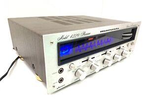 MARANTZ 4220 Receiver Stereo Quadradial Hi End 40 Wats RMS Vintage 1975 LIKE NEW