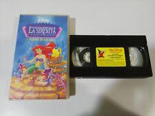 LA SIRENITA DOBLES BURBUJAS LAS NUEVAS AVENTURAS DISNEY - VHS TAPE CASTELLANO