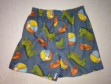 Gymboree Boys Dinosaur Crab Beach Ball Pajama Shorts Size 18-24 Mos.
