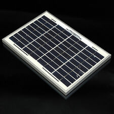 12V SOLAR PANEL ENERGY BATTERY CHARGER BOAT CAR 10W POLYCRYSTALLINE TUV ISO
