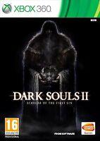 DARK SOULS II 2 SCHOLAR OF THE FIRST SIN NUEVO PRECINTADO XBOX 360