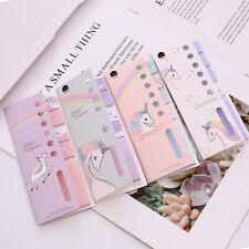 4+1 Unicorn Memo Pad N Times Sticky Notes Escolar Papelaria School Supplies Cute