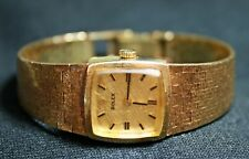 Vintage! ROLEX 8184 Ladies wristwatch 14k Solid Yellow GOLD Cal. 1400 RARE! 1960
