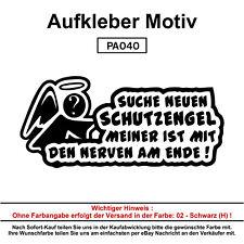 SUCHE SCHUTZENGEL  - Autoaufkleber Aufkleber Fun Spaß Sticker Lustige Sprüche