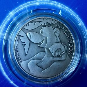 The Jungle Book Disney Limited Edition 38mm Collectors Coin Protective Capsule