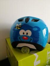 MET  Elfo Blue Bear 46-53 cm  Fahrradhelm für Kinder 46-53 Kopfumfang