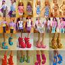 40 paia / Lotto di diverse STILI Tacchi Alti Scarpe per bambola barbie accessori
