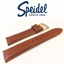 NEW SPEIDEL 20mm OILED-TANNED HONEY PADDED STITCHED LEATHER WATCH BAND 5004730