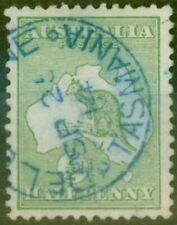 Australia 1913 1/2d Green SG1 Superb Used DELORAINE TASMANIA SP 25 14 CDS in ...