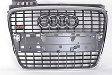 Audi Original A4 S-line Kühlergrill grau aluminium 8E0853651M 1QP Single Frame