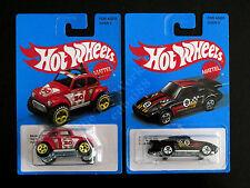 Hot Wheels Retro Style Series 2017 2 Die-cast Cars VW Baja Beetle & Porsche 930