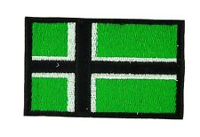 Vinnland VINLAND VIKING FLAG PATCH patches backpack BADGE IRON ON EMBROIDERED