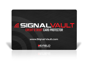 SignalVault SV-2Pack RFID Blocking Signal Vault Credit & Debit Card Protector