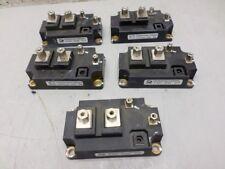 5 Microsemi Cmgegf400U120D4Ag 400 Amp 1200 Volt Igbt Modules Used