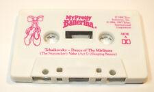 Vintage My Pretty Ballerina 1990 Tyco The Nutcracker Music Song Cassette Tape