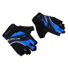 Reflective Half Finger Cycling Gloves Fingerless Bike Bicycle Sports Gloves