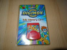 DIGIMON 1mb Tarjeta de memoría PS1 Sony PlayStation 1 Joytec