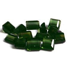 Emerald Shaped Transparent Loose Tourmalines