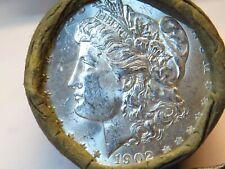 New listing Uncirculated Bu+1890 Top Quality End / 1902 Top Q Morgan Dollar Roll$10 #Sdr952