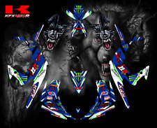 Kawasaki KFX 450 450R 2008-2014 full graphics kit sticker decals