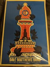 Dave Matthews Band Poster Wrigley Field Chicago Poster 2010 Night 1 Methane