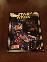 Data East Star Wars Pinball Machine Flyer, 1992 NOS