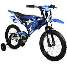 "16"" BMX Moto Boys Bike Blue Steel Frame Kids Bicycle Motocross Style New"