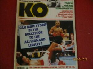 BOXING.MIKE TYSON.