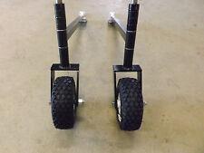 Universal Landscape Rake  Wheel Kit Mercer Mfg.