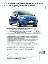 Publicité Advertising 037  2006  la Fiat Punto  voiture citoyenne