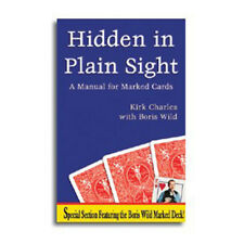 Hidden in Plain Sight Manual for Marked Cards Boris Wild Magic Trick book