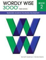 Wordly Wise 3000 Book 2 Third 3rd Edition Student 2nd Grade Vocabulary