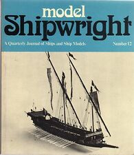 Model Shipwright No 12  (Conway 1975 1st)