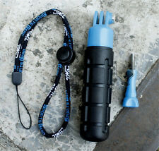 New Blue Self Timer Monopod Pole Hand Grip For Gopro Hero 4 /3+ 3/2/1