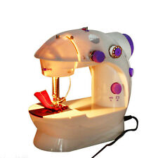 Electric Portable Mini Desktop Sewing Machine Hand Held Household Sartorially D