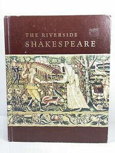 The Riverside Shakespeare by William Shakespeare 1974, Hardcover