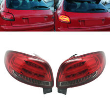 RH & LH Driver Passenger Mounted Tail Light Rear Lamp Fit for Peugeot 206 98-10