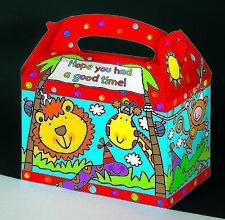 Souvenir de fiesta Saquear Bolsas con motivo de la selva-Cumpleaños De Niños Regalo - 6 Paquete