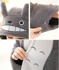My Neighbor Totoro Soft Plush Shawl  Cape Anime Costume Cloak
