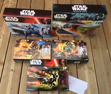 STAR WARS FORCE AWAKENS Rogue 5 vehicles Collection SPEEDER BIKE / SNOWSPEEDER