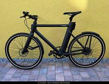 Cowboy 2, e-Bike, nur 12 km, Schutzbleche, Federstütze, schwarz, wie neu