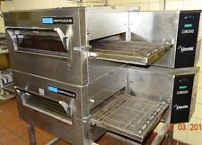 LINCOLN IMPINGER DOUBLE STACK PIZZA OVEN-MODEL 1116-000-A