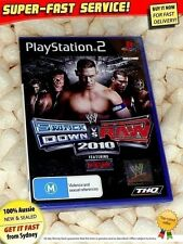 Smackdown vs Raw 2010 game for PS2 (NEW) WWE wrestling fighting MMA showdown UFC