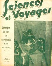 Sciences et voyages n°734-1933-CERF-MANCHUKUO-SECURITE MINES-TOTALISATEUR-