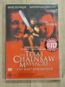 The Texas Chainsaw Massacre The Next Generation DVD Region 4 FAST POST RARE