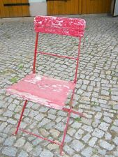 Ancienne Chaise de Jardin Bierstühle Chaise de Jardin