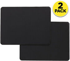 2-Pack Mouse Pad Mat Stitched Edge Antislip Gaming Computer Keyboard Office Desk