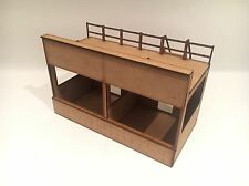 1/32 SCALA REIMS gueux GP PIT Central Building Scalextric o MAGNETICO racing
